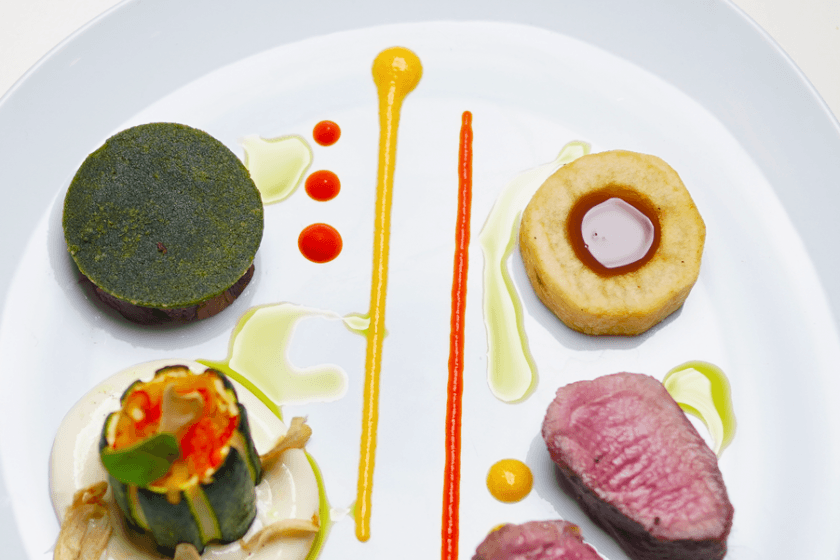 Discover our French tasting menu