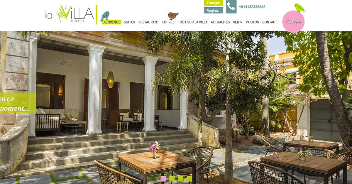 La Villa - Official Site - In the heart of the old city of