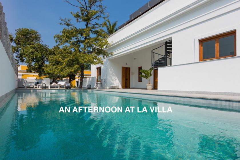 An afternoon à LA VILLA